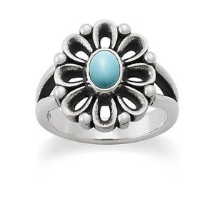 James Avery turquoise ring